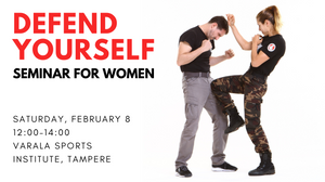 Self-defense seminar for women in Tampere, Finland