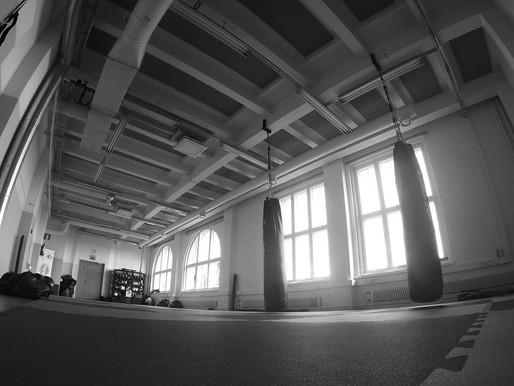Uusi sali tarjoaa entistä paremmat treeni- ja yhteisötilat