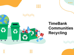 How Timebanking Can Help with Recycling