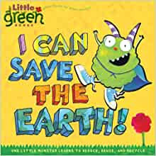 """I can save the Earth"" book cover"
