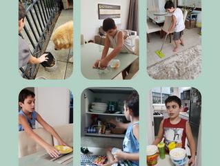 A importância da Cooperação em tarefas domésticas