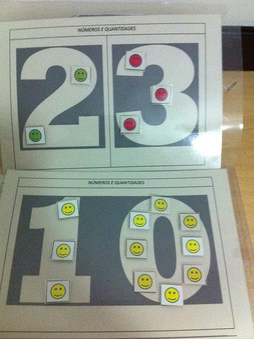 KIT Aprendendo os Números e Quantidades
