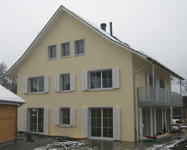 Neubau EFH Rifferswil