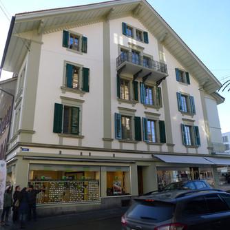 Sanierung Wohn- und Geschäftshaus Thun