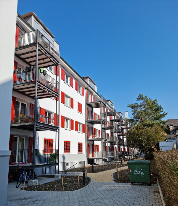 Balkonersatz MFH Zürich