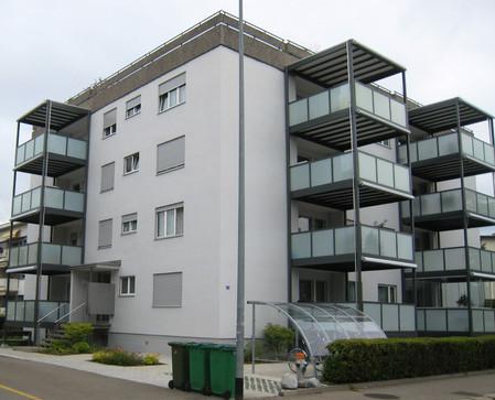 Balkonersatz MFH alte Jonastrasse Rapperswil
