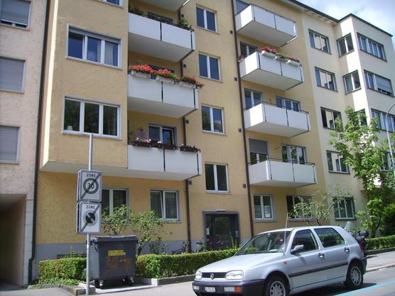 Teilsanierung MFH Wildbachstrasse Zürich
