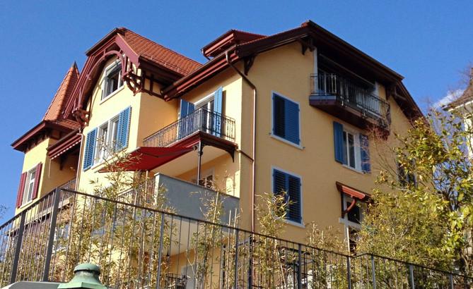 Sanierung Neugestaltung Wohnhaus Zollikon