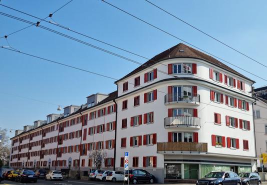 Fassadenauffrischung MFH Zürich