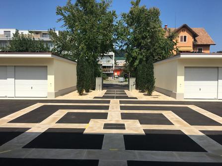 Neugestaltung Vorplatz Villa am See