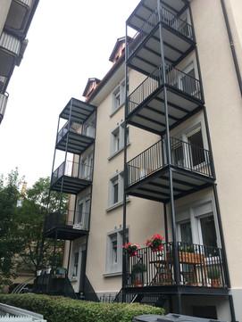 Balkonersatz, Innensanierung MFH Zürich