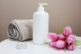 white bottle towel pink flowers.jpg