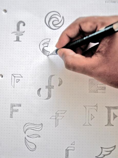 Sketching Faerun logo