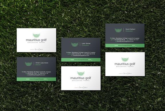 Mauritius Golf Tours Branding Items
