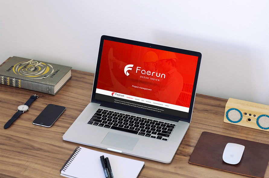 Faerun Website designed and developed