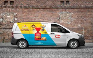 Reu Kids Product Range Vehicle Graphic