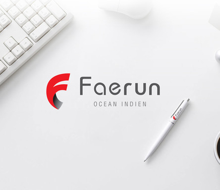 Final logo of Faerun Ocean Indien