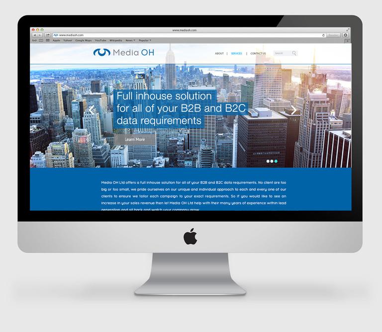 MediaOH-Website design and development