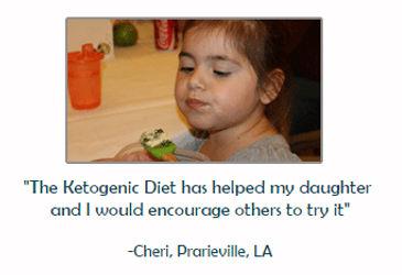 girl with lgs lennox-gastaut syndrome on ketogenic diet, epilepsy, seizures