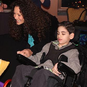 Boy with LGS lennox-gastaut syndrome rare epilepsy seizures