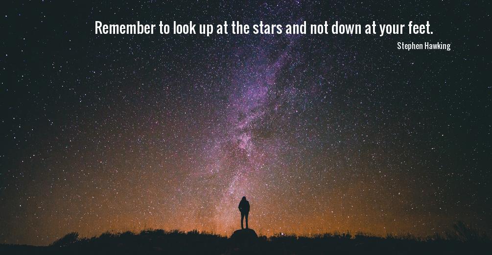 Look at stars