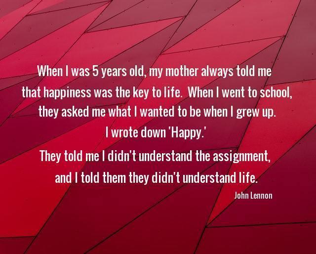 Happiness by John Lennon