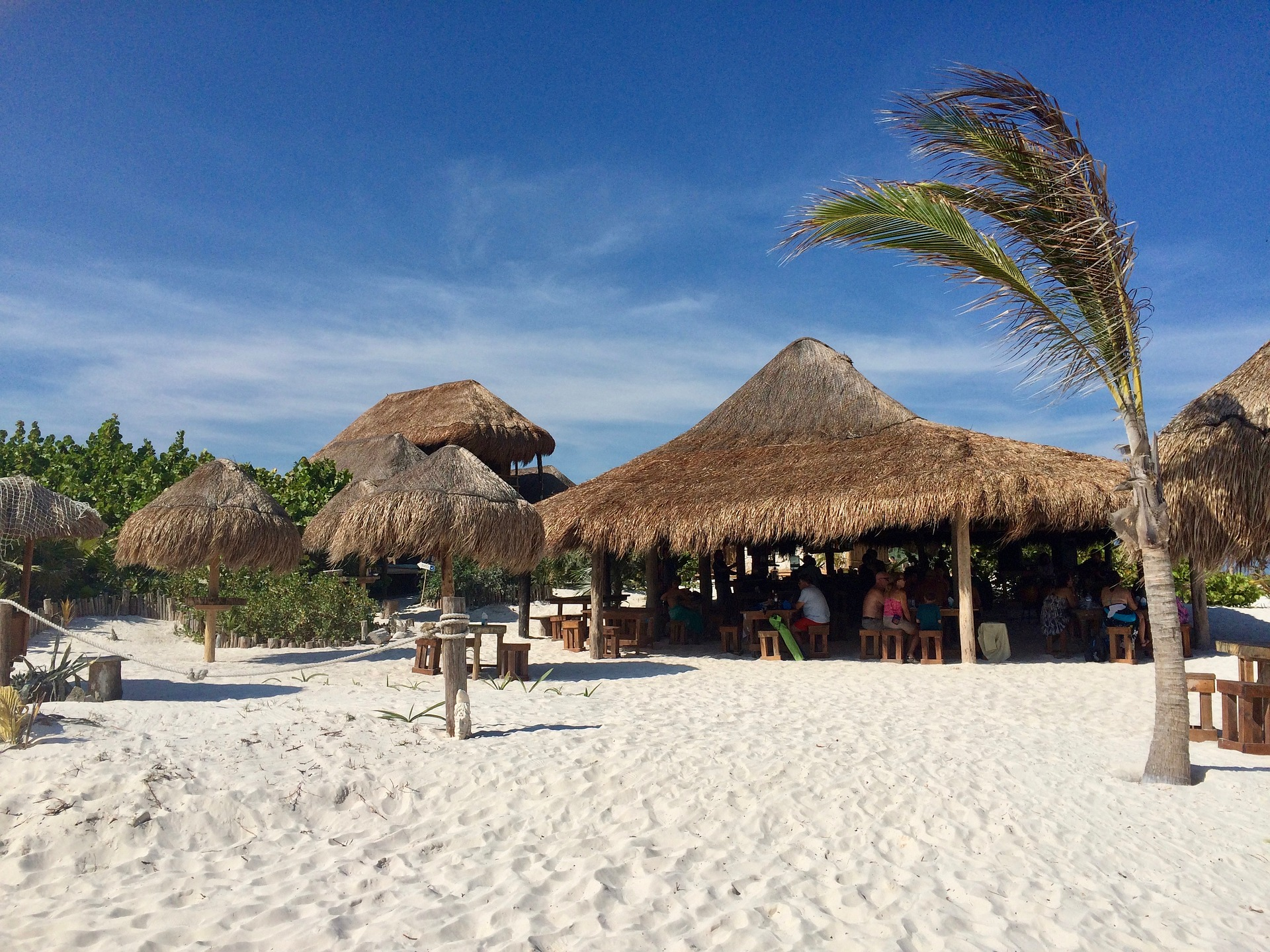 One of the many beaches in Cozumel