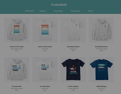 Cruisedaily Community Merchandise