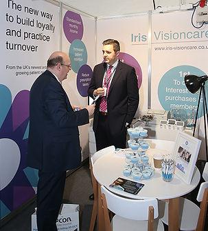 Iris Visioncare at Optrafair