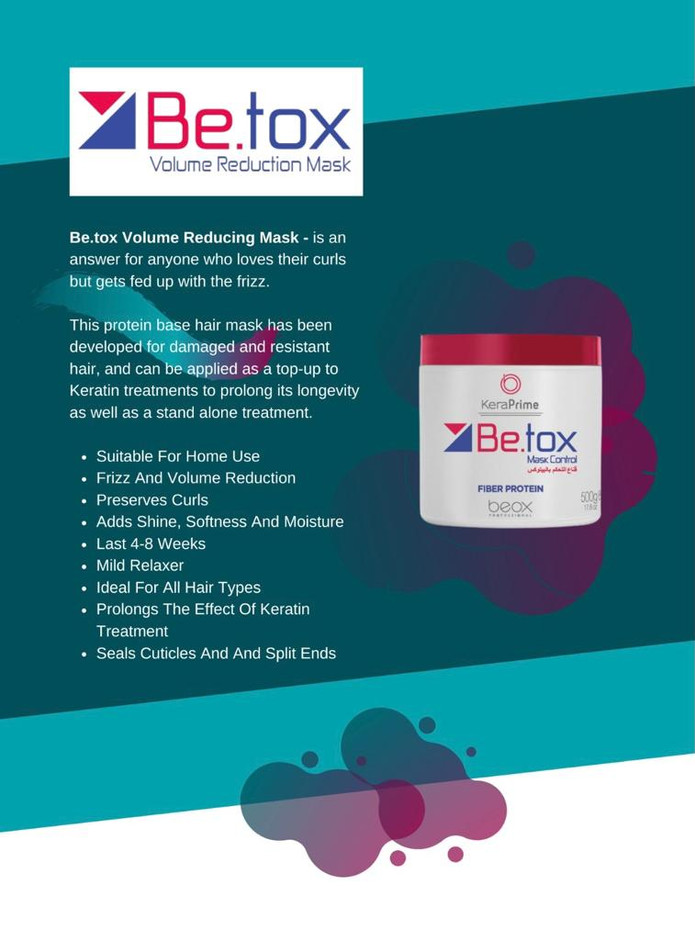 Be.tox Volume Reducing Mask