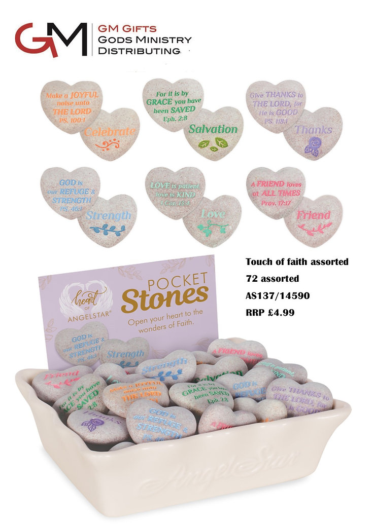 Touch of faith Stones Feb 19 sales sheet
