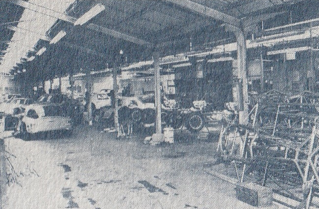 TVR Factory photo Vixen 1