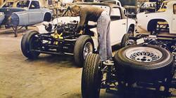 TVR Factory Walter Daubney