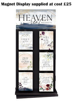 Magnet Display Heaven sent sales sheet