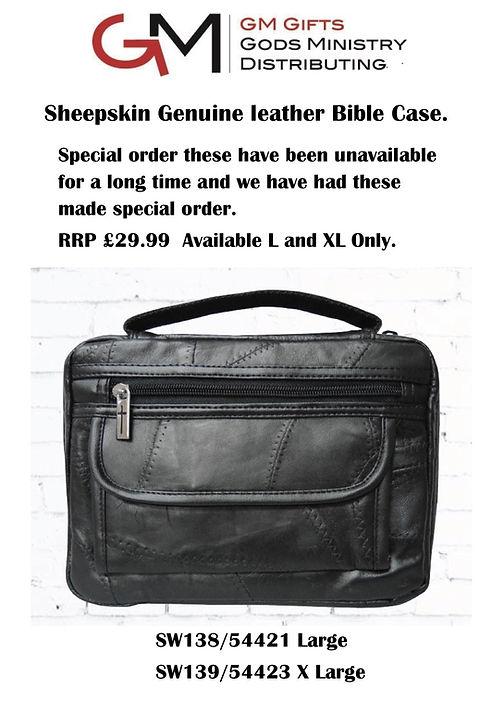 Leather Bible case sales sheets Webb sit