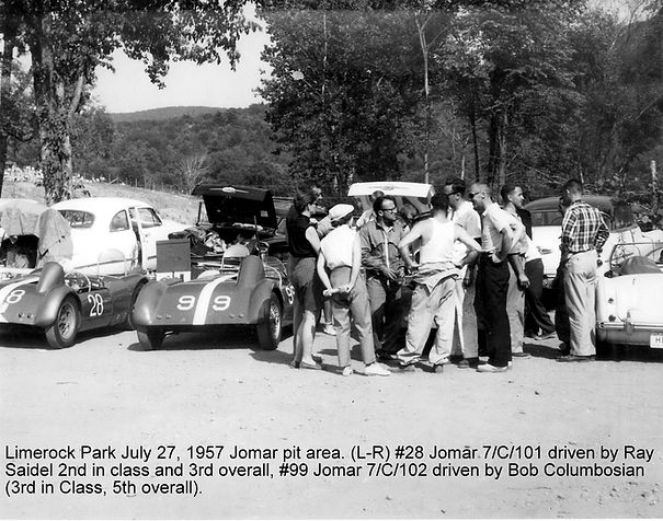 7c101 and 7c102 Limerock July 7 1957 ann