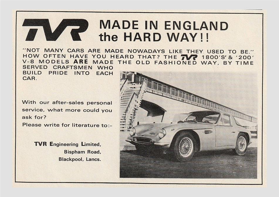 TVR Archive Add made the hard way Webb s