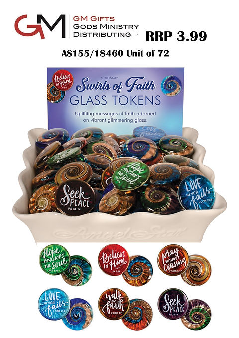 Swirls of faith new 2020 pocket tokens s