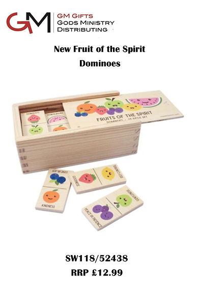 Swanson Fruit of the spirit Dominoes sal