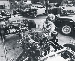 Keith Maddox TVR Factory