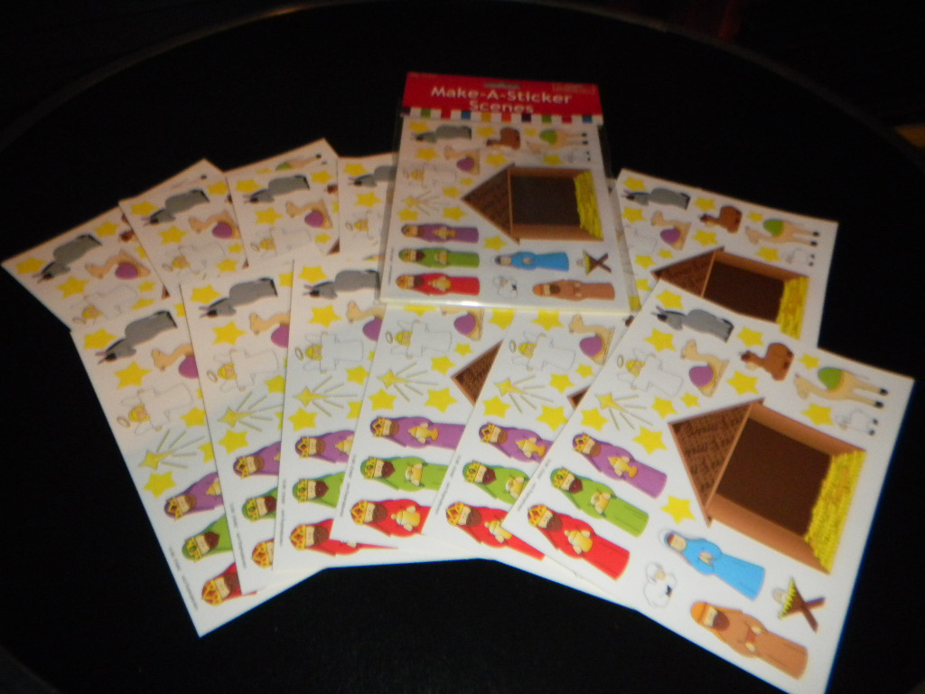 NATIVITY STICKER SET EN-36 352 (2)