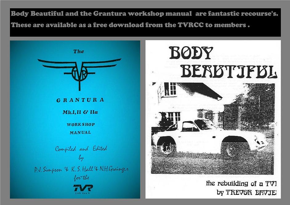 Body Beautiful and Grantura Manual Webb