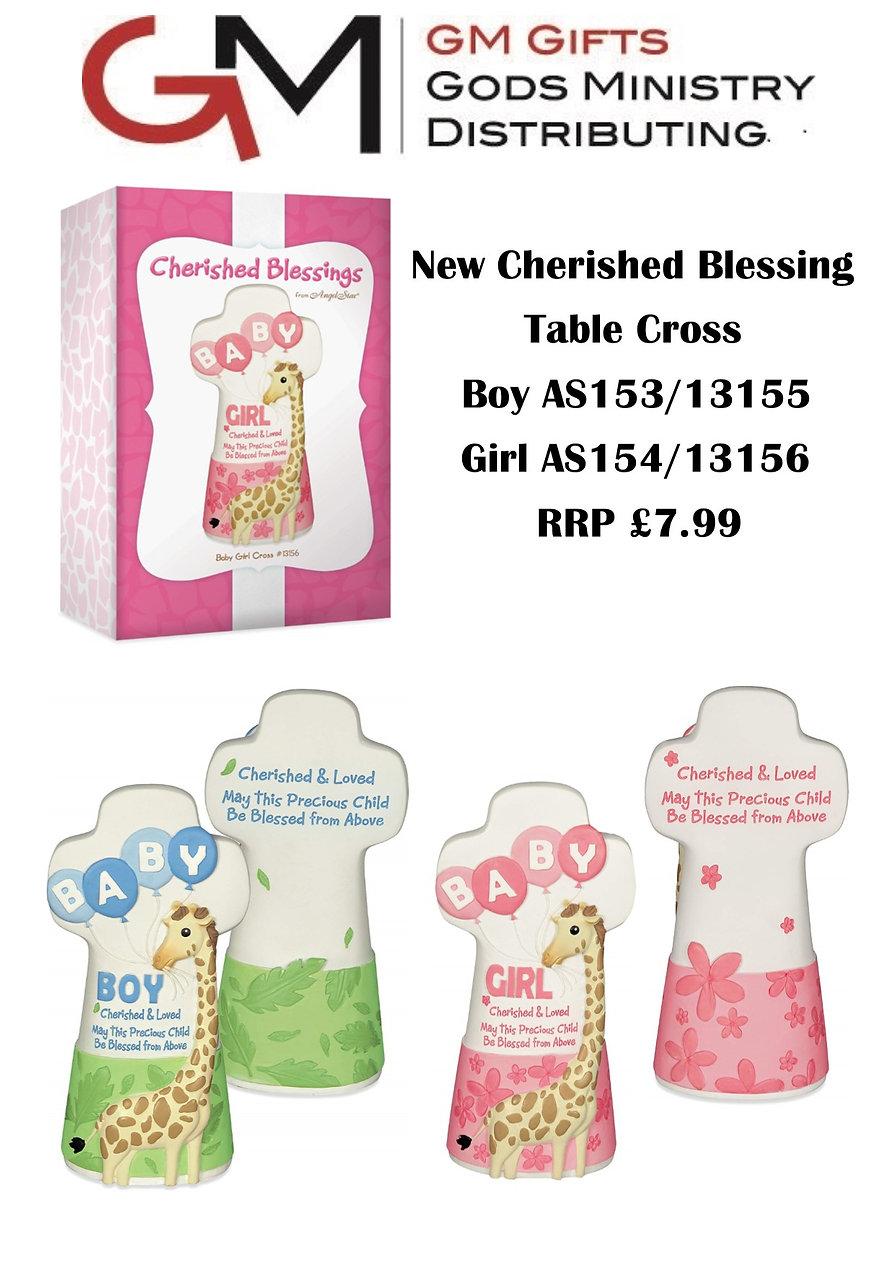 Cherished Blessings Tabble Cross sales s