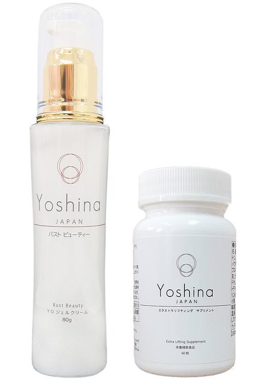 日本豐胸之神Yoshina 套裝 (精華+豐胸素)
