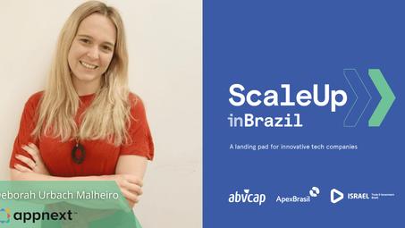 Europe and Latin America leader, meet Deborah Malheiro, participant of the ScaleUp inBrazil program