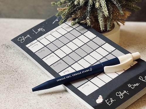 Sleep Tracker Pad and Pen