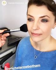 Having the face done! #makeup #model @mi