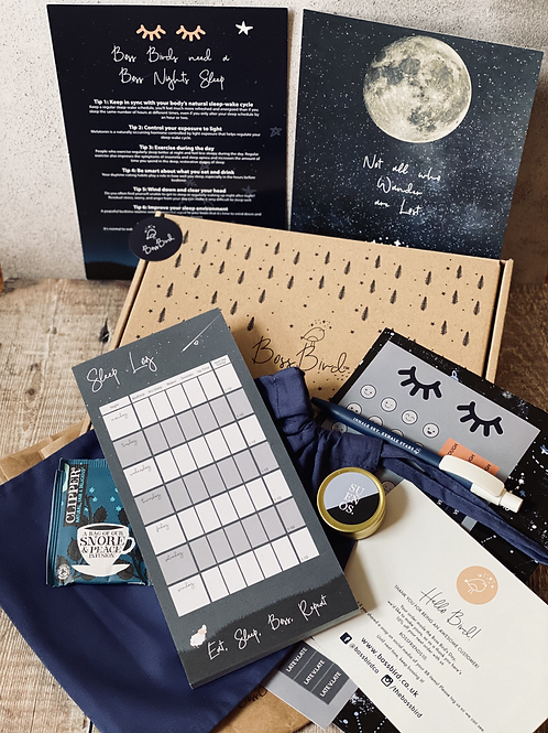 Moon & Stars Sleep Tracker Boss Bird Box