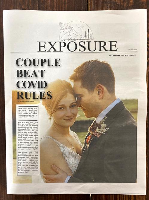 Your Wedding Newspaper (5 copies)