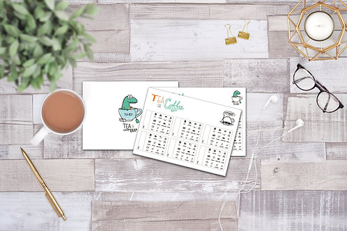 Tea & Coffee Order Pad